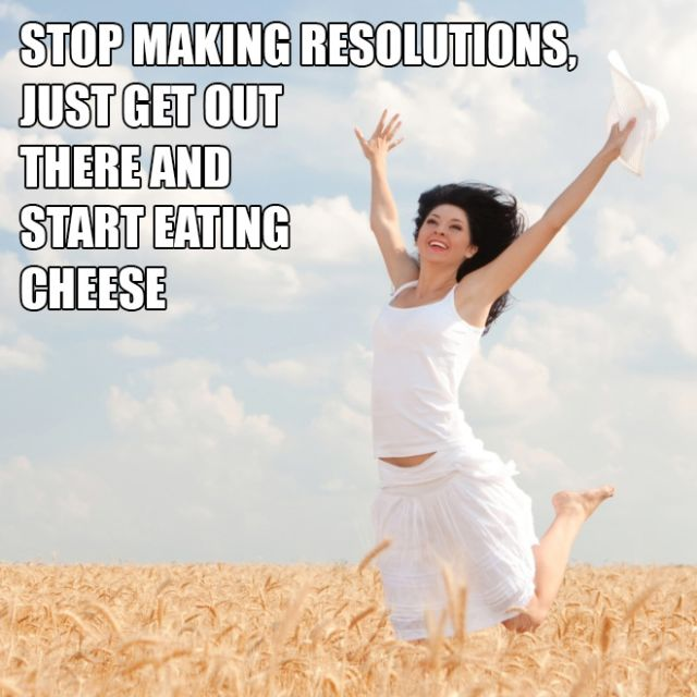 Realistic New Year's Resolutions, part 2