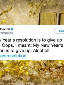 Funny New Year's Tweets