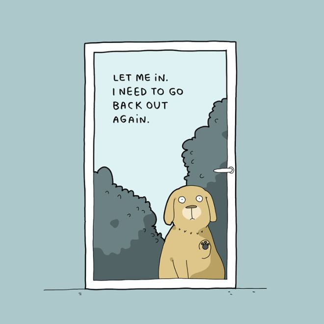 10 Illustrations Every Dog Owner Can Relate To