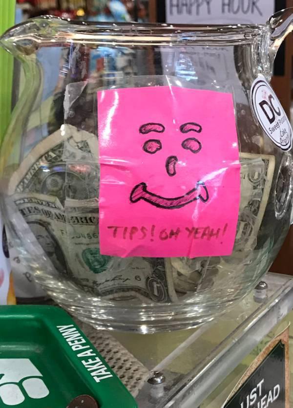 Cool Tip Jars