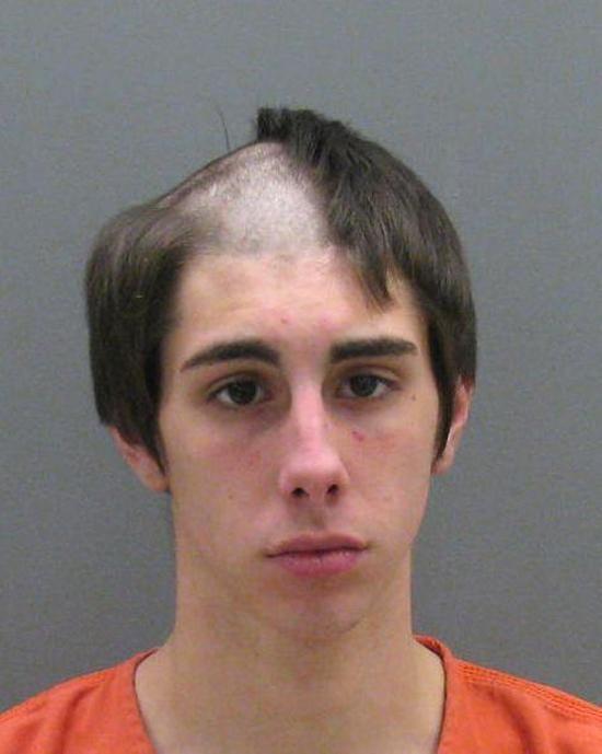Funny Hair Mugshots