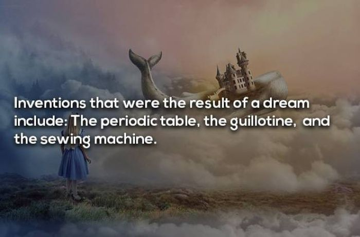 Facts About Dreaming