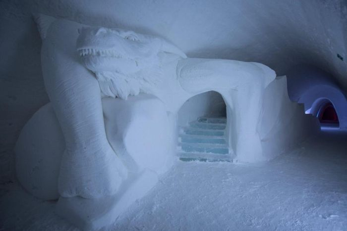 A Game of Thrones-Themed Ice Hotel In Finland