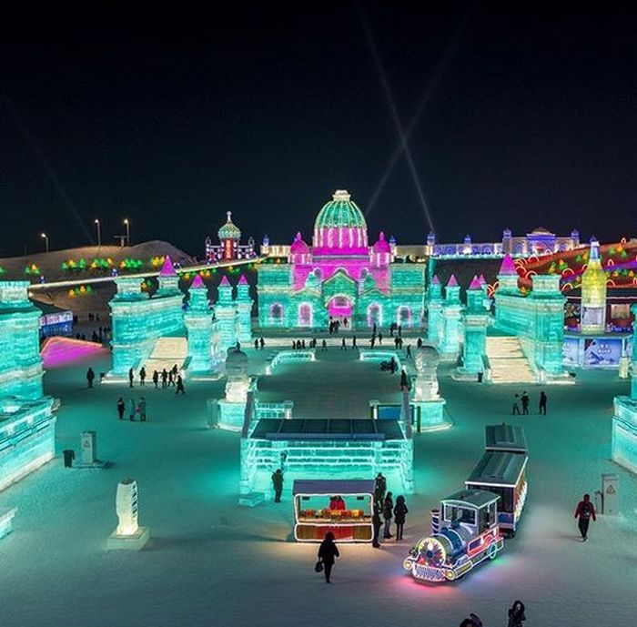 Ice and Snow Festival in Harbin, part 2