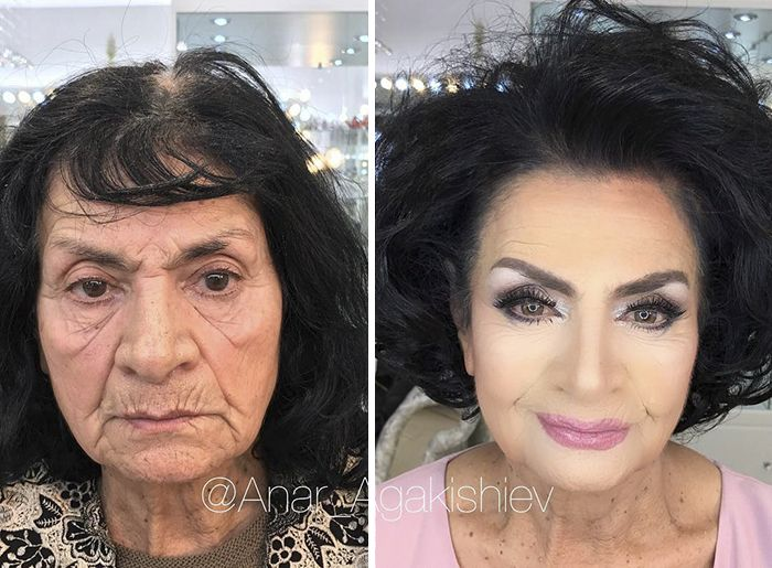 makeup transformation others