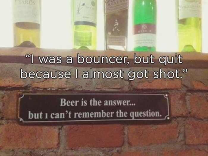 Bouncers Have A Hard Job