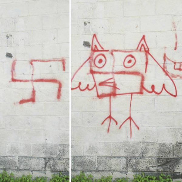 How To Fight Swastikas On The Streets