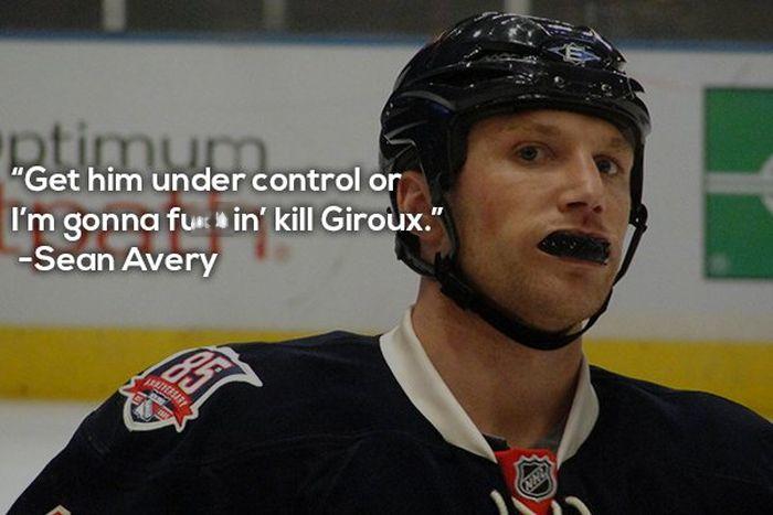 NHL 'Chirp'