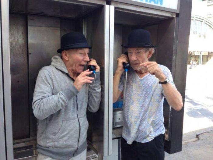 Patrick Stewart And Ian McKellen Friendship