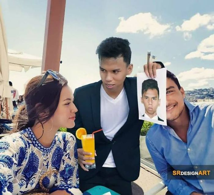This Photoshop Master Syahril Ramadhan Has Many Celebrity Friends!