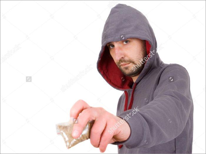 Drug Dealers In Stock Photos
