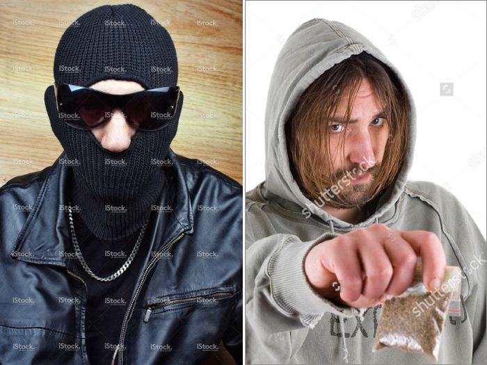 Drug Dealers In Stock Photos