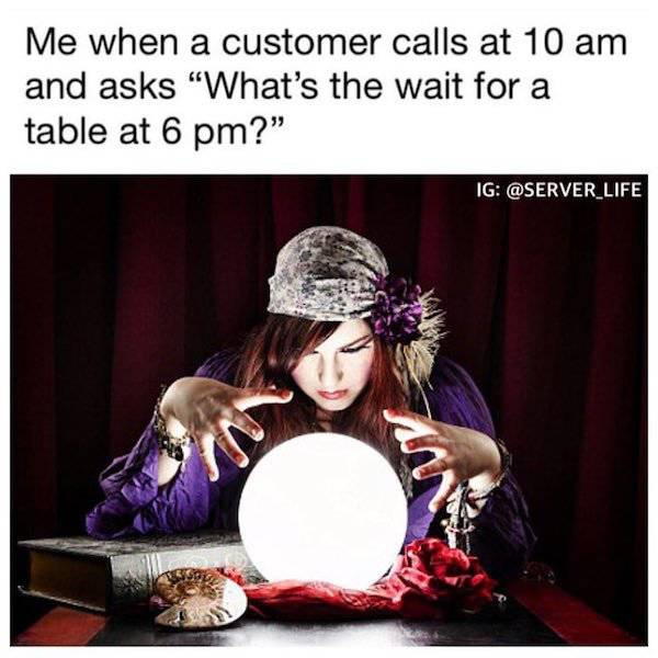 Funny Restaurant Situations