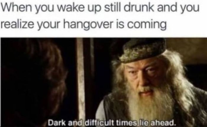 It's All About Being Drunk