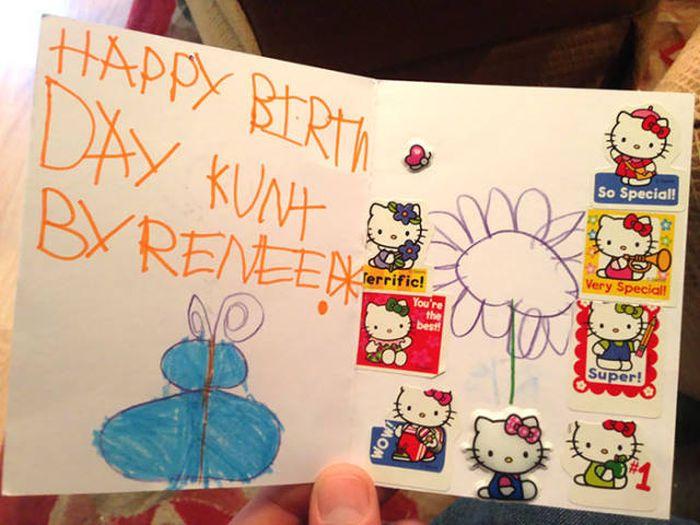Brutal Gift Cards By Children
