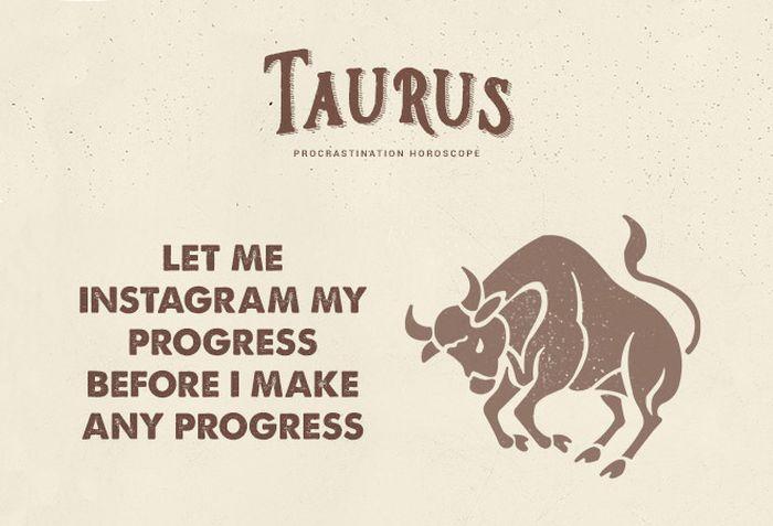 Procrastination Horoscope