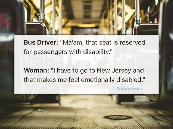 New Yorkers Share The Weirdest Things They've Overheard
