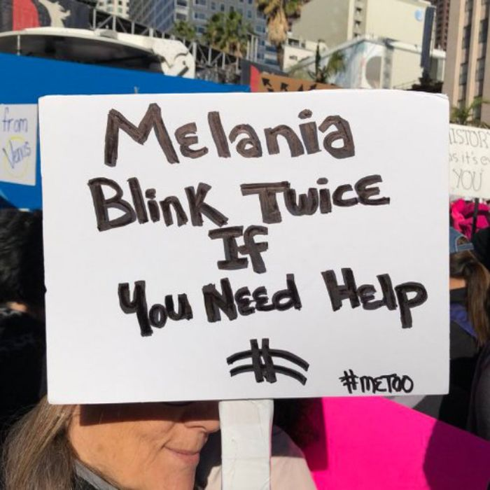 The Best Signs From The 2018 Women's March