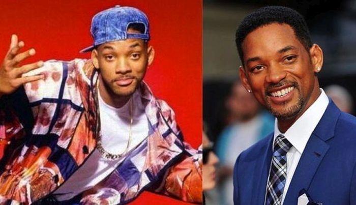 Celebrities Today vs The 1990s