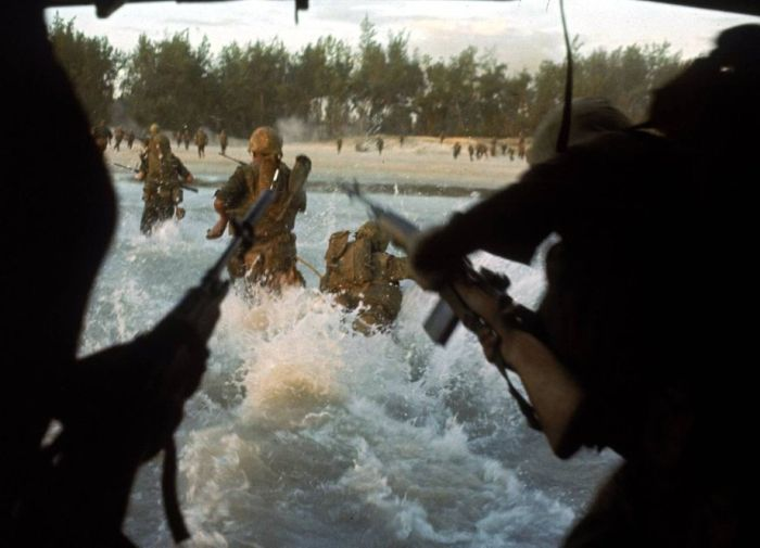 Photos OF Vietnam War In Color