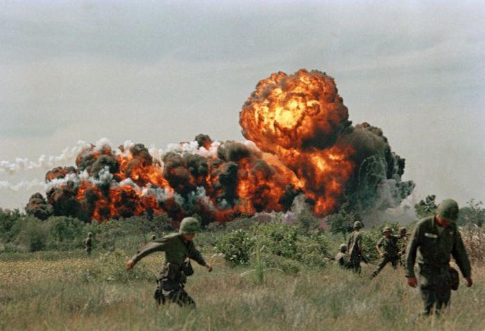 Photos OF Vietnam War In Color