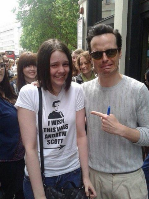 People Who Met Their Idols And Were Wearing The Perfect Shirt For The Occasion