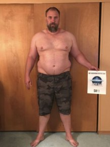 Man Loses 82 Pounds In 152 Days