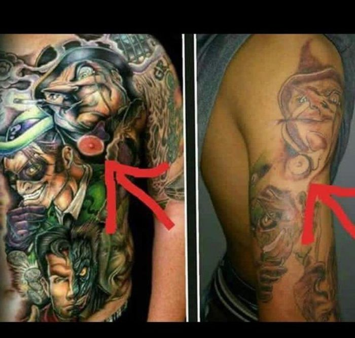 Crazy Tattoos