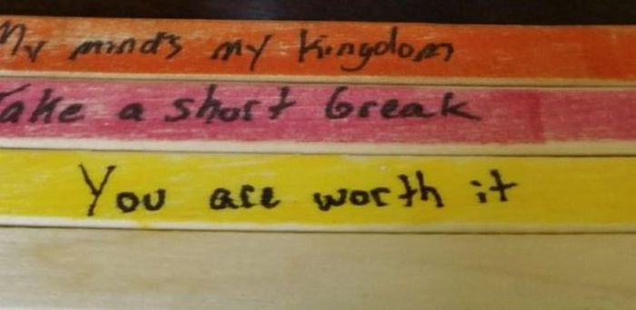 Man Uses Popsicle Sticks to Heal His Girlfriend's Depression