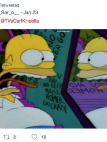 Simpsons Screenshots Turn Out To Describe People's Lives Very Well