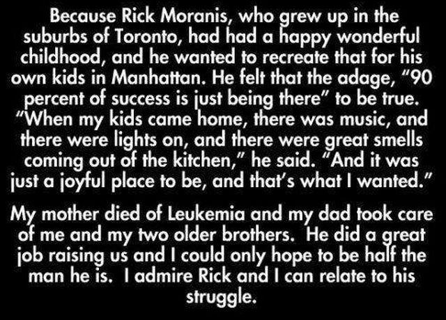 Good Guy Rick Moranis