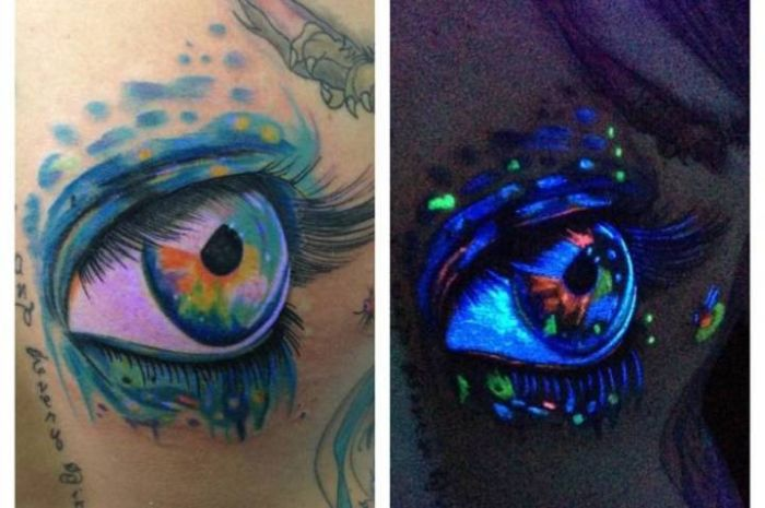 Epic Tattoo Transformations Under A Black Light