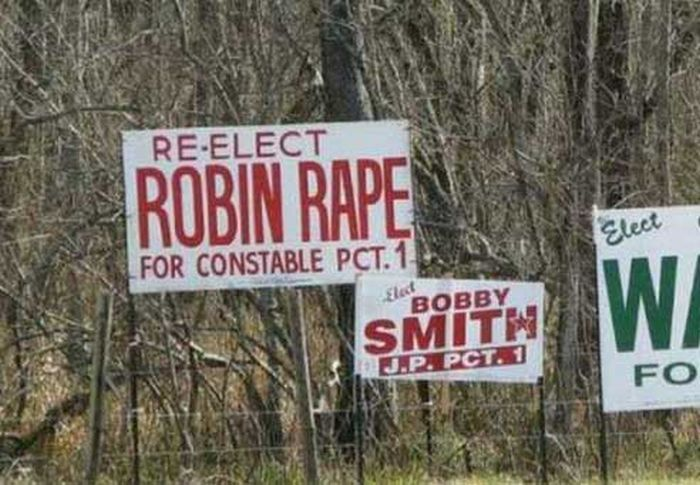 Funny Politician Names
