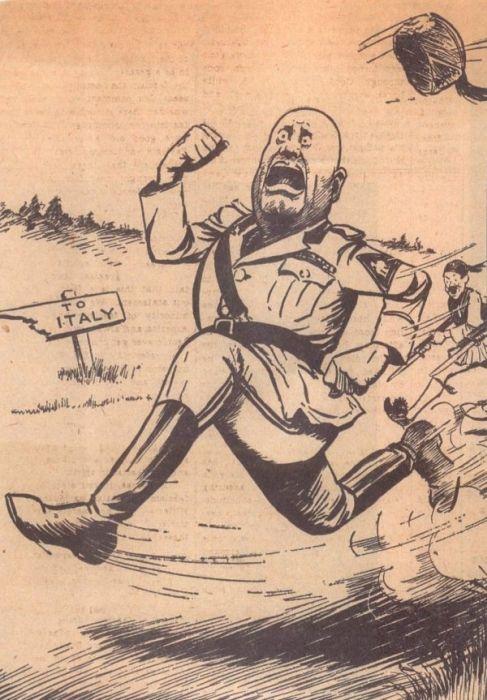WW2 Political Cartoons