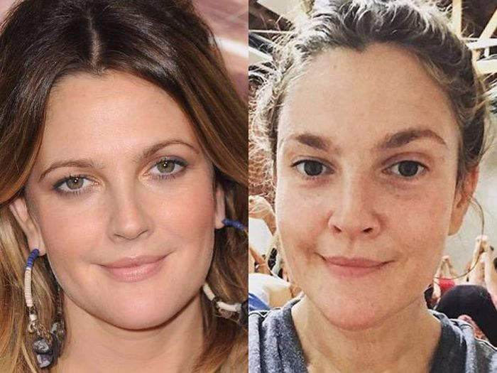 Actresses With No Make Up On