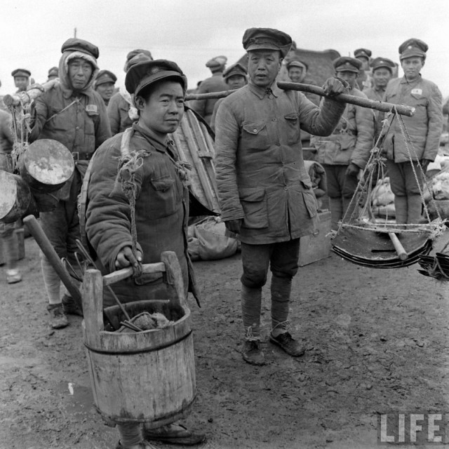 Photos From 1947. The Civil War in China