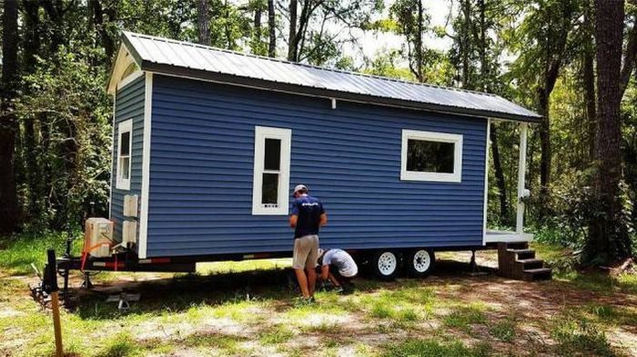 One Guy Has Built Himself A House Instead Of The Dorm