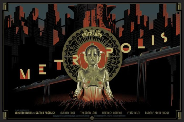 The Retro Futuristic Movie Posters of Laurent Durieux