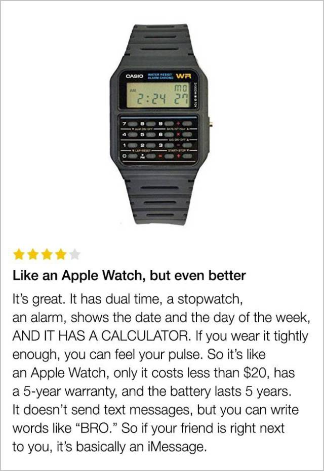 Funny Customer Reviews