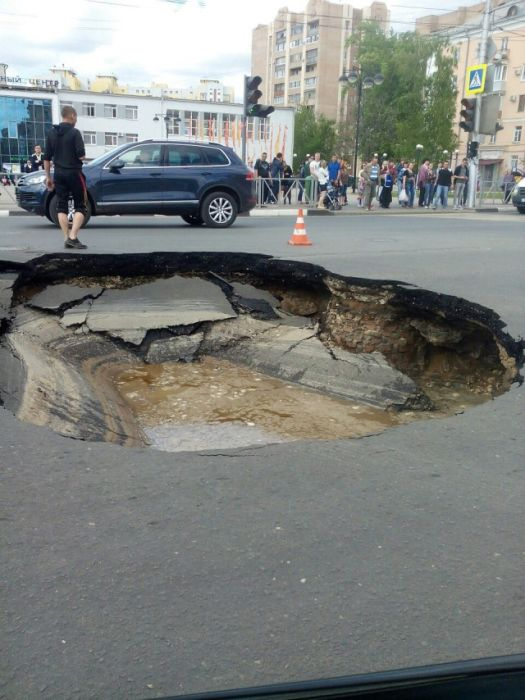 Roads In Russia