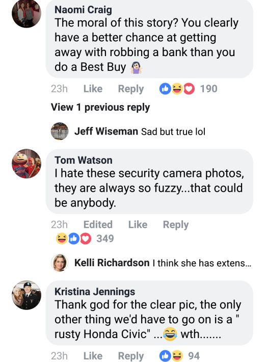 Wanted Girl Photos Posted By Police Gets A Lot Of Funny Replies