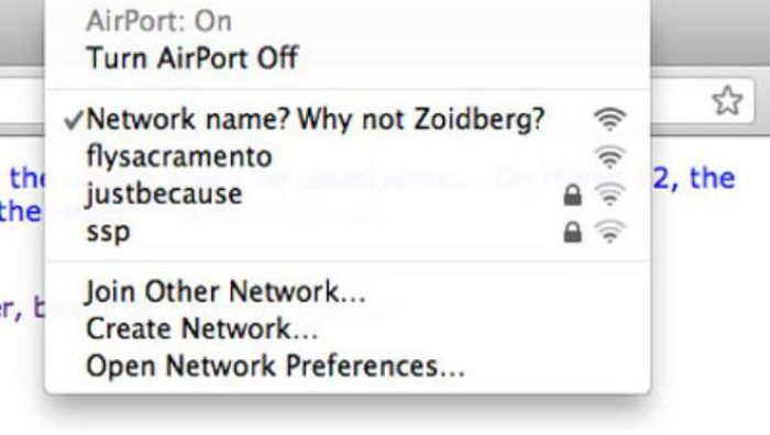 Creative Wi-Fi Names