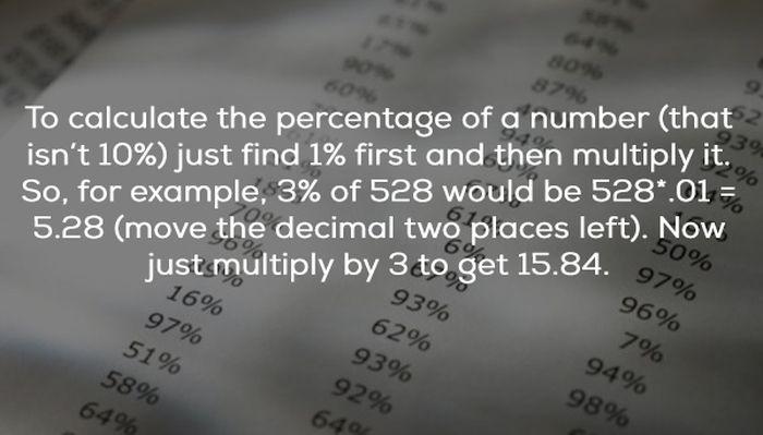 Mental Math Hacks