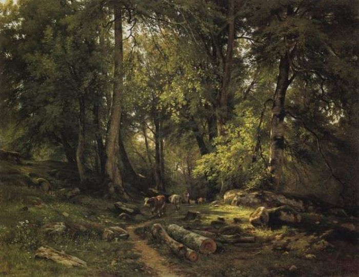 Awesome Paintings By a Russian Painter Ivan Shishkin