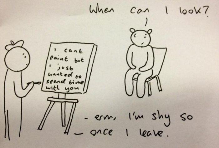 Sad Cartoons By Ben Cameron