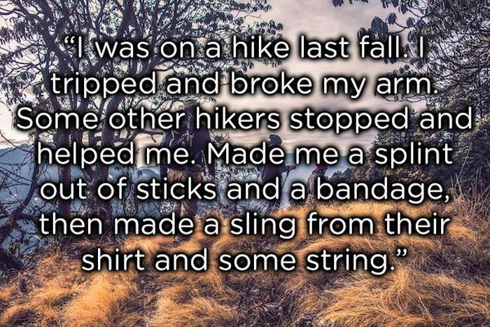 Stories Of Strangers Who Had A Positive Effect On Someone's Life