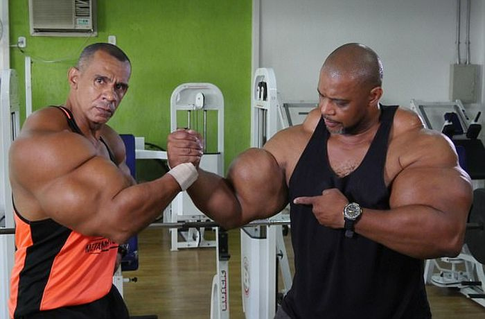 Brazilian Brothers Inject Themselves With Dangerous Chemicals To Create Biceps