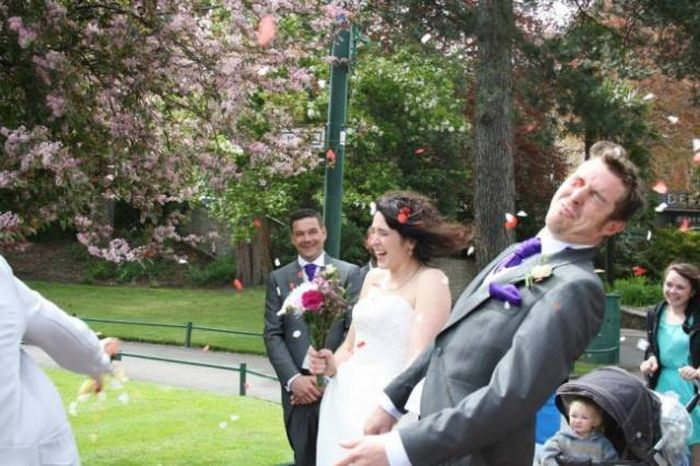 Awkward Wedding Photos