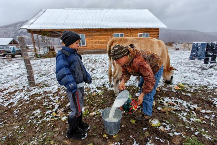 Russian Village of Old Believers