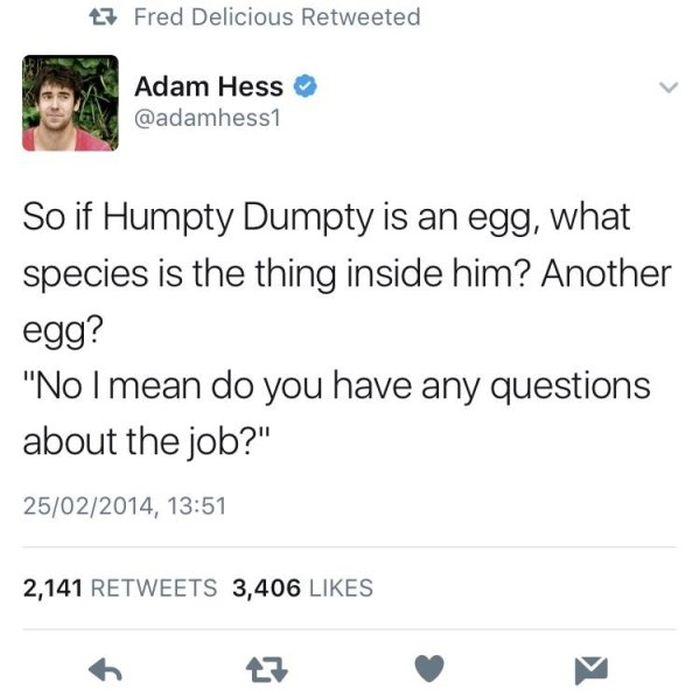 Funny Tweets, part 7